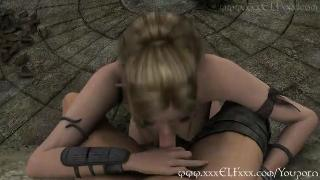 YouPorn Stunning Blonde Elf in POV and Porn Animation