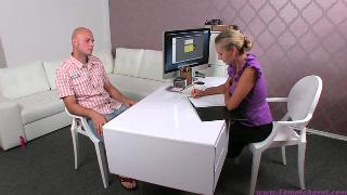 Zuzana Z Job Interview With Elated Woman (360p