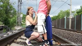 Alexis Crystal Fucked By A Train