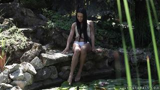 Anna Rose By The Pond