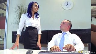 Office 4 Play:Intern Edition Keiran Lee, Riley Reid,Janice