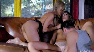 Elena Koshka And Brandi Love Hot Sexxxy